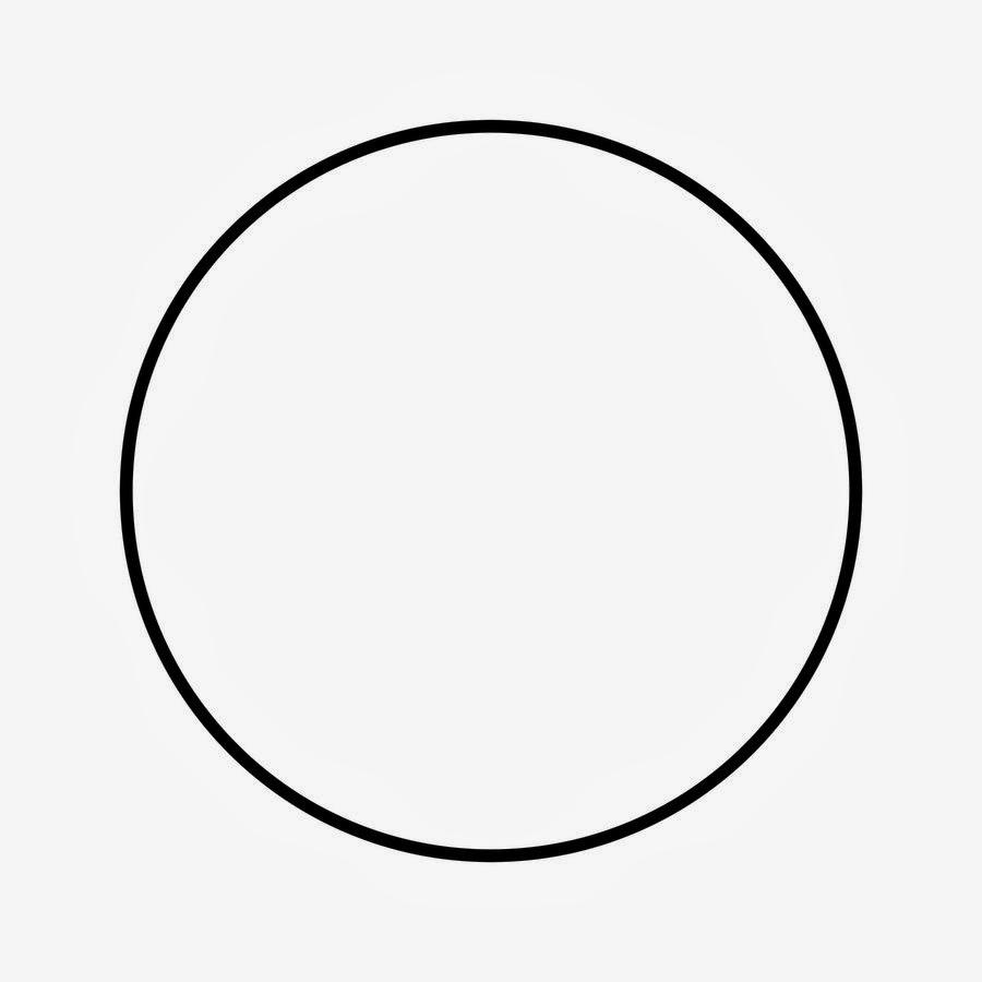 Molde de círculo.