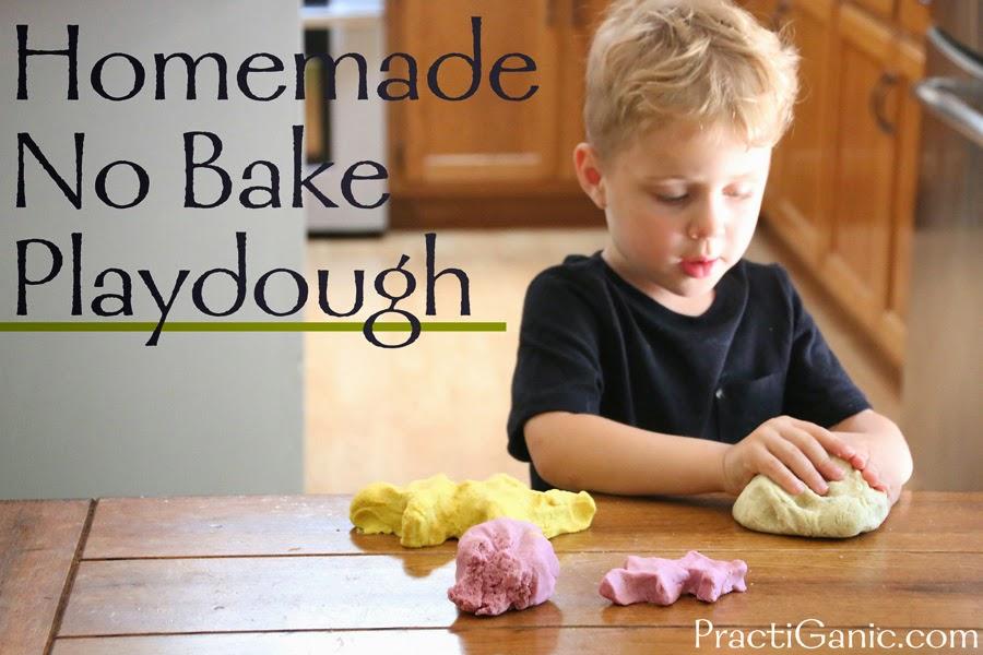 Homemade Natural No-Bake Playdough