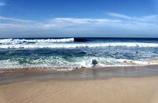 Lautan di Pantai Buyutan