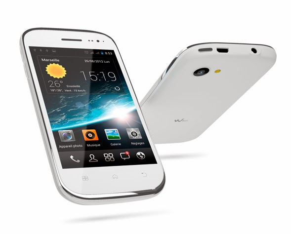 Smartphone Wiko Cink Slim Blanc
