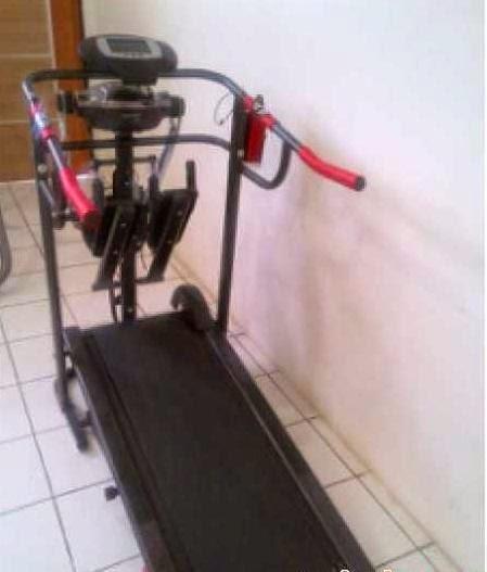 gambar alat olahraga fitness treadmill 5 fungsi