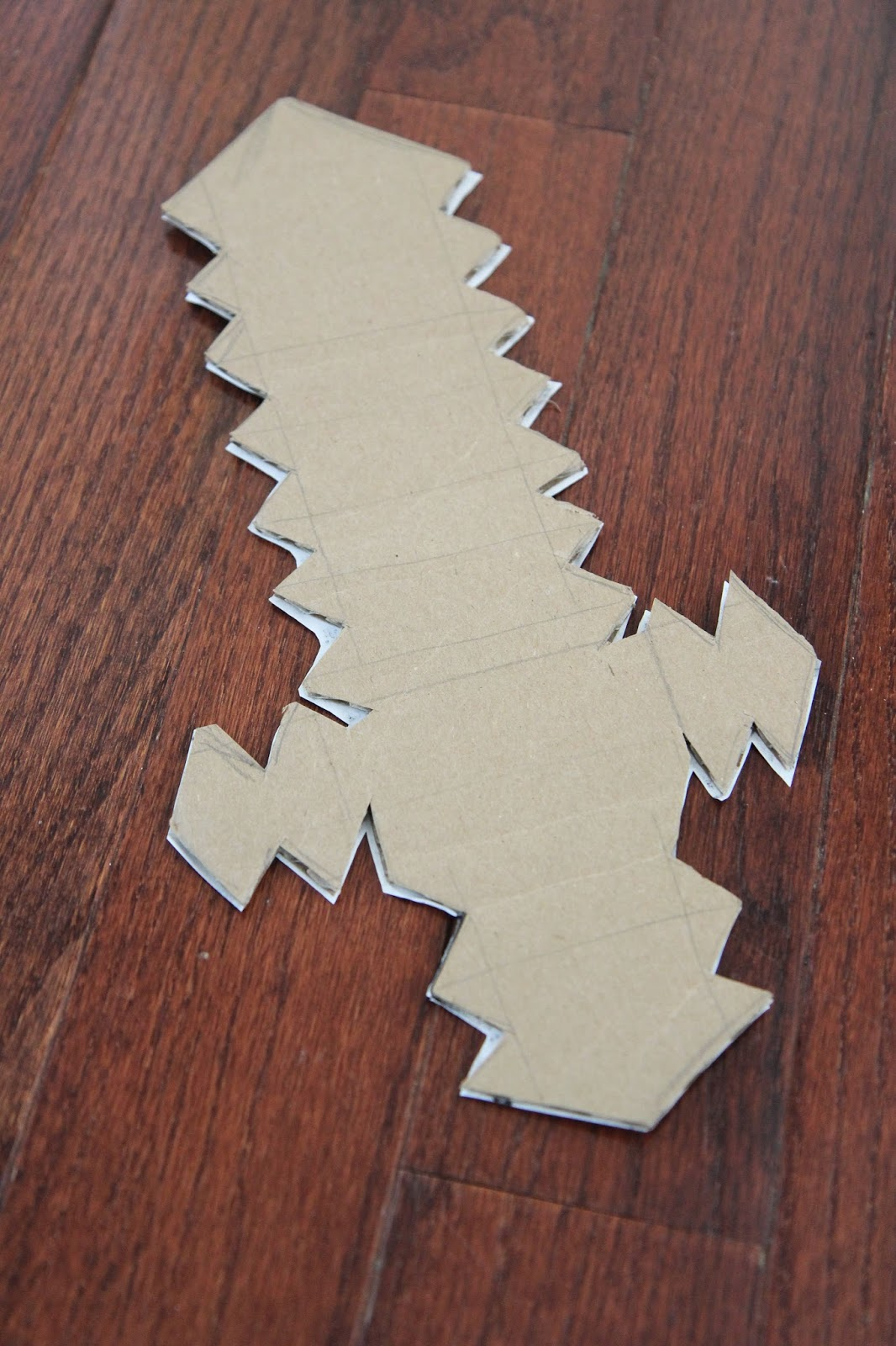 Toddler Approved Diy Cardboard Minecraft Sword Free Printable Origami Diagrams This Is The We Make In Download Template Here