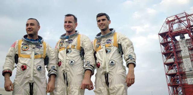 Apollo, Apollo 1, Virgil Gus Grissom, Edward H White II, Roger B Chaffee, NASA