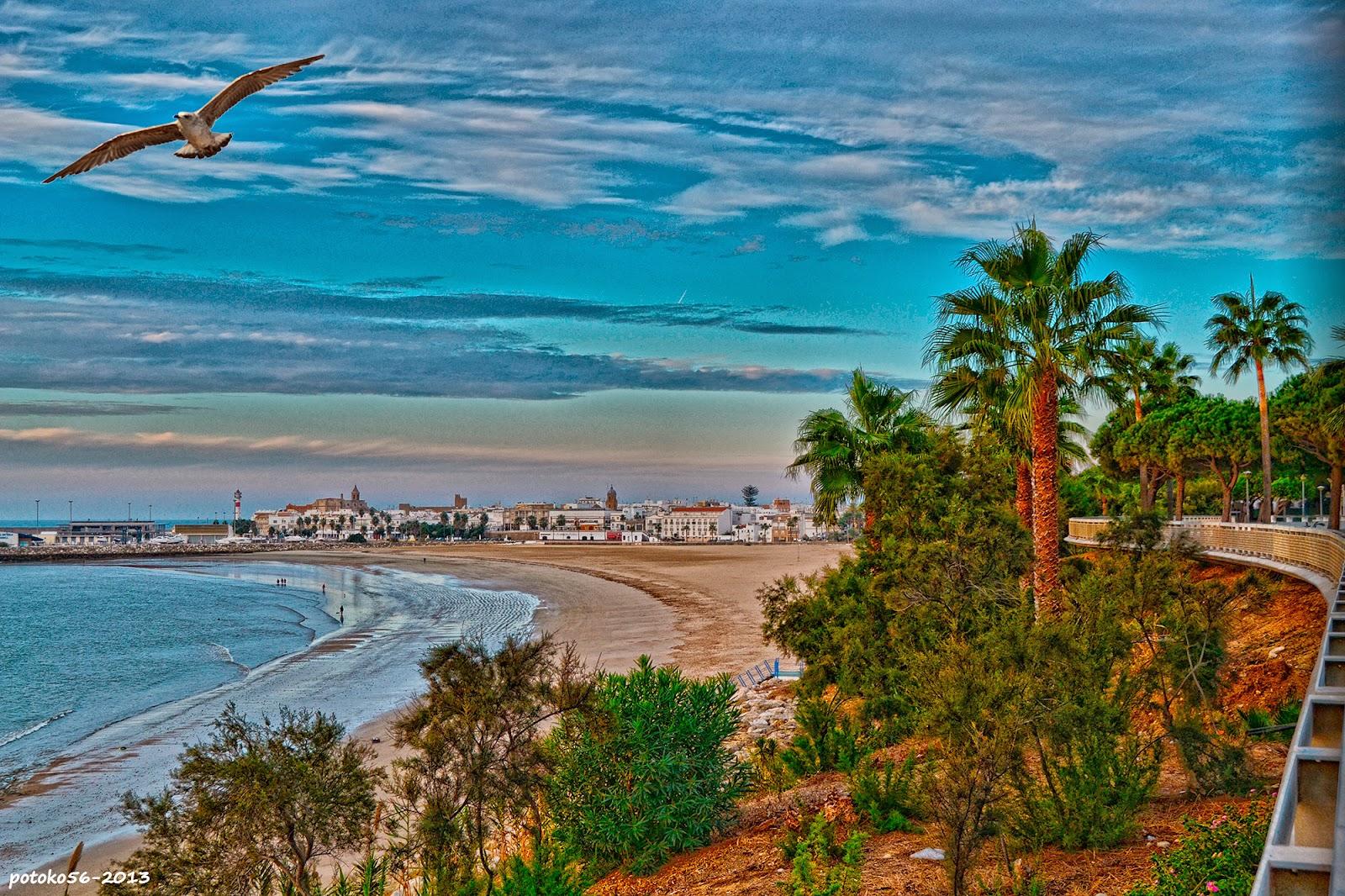 Desde el Paseo Playa del Chorrillo Rota