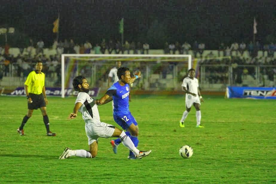 Dempo SC against Mohammedan SC