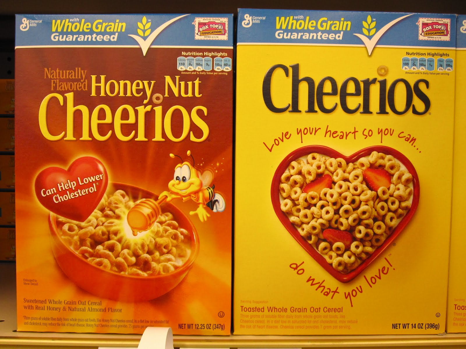 Heart healthy cereals