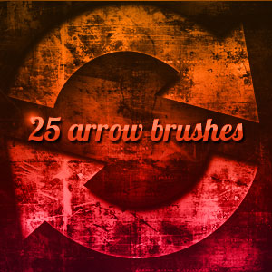 Arrow Grungy Brushes