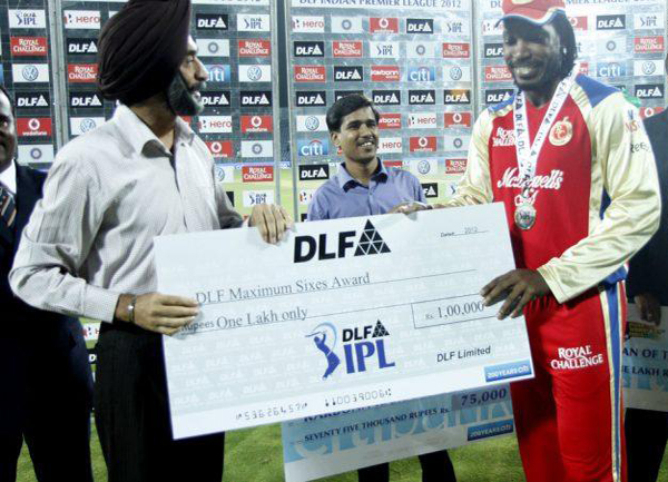 Chris-Gayle-DLF-maximum-sixes-v-PWI-match-57