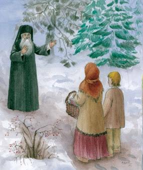 Bucura-te Sfinte Calinic ,caci de mic L-ai ales pe Dumnezeu !