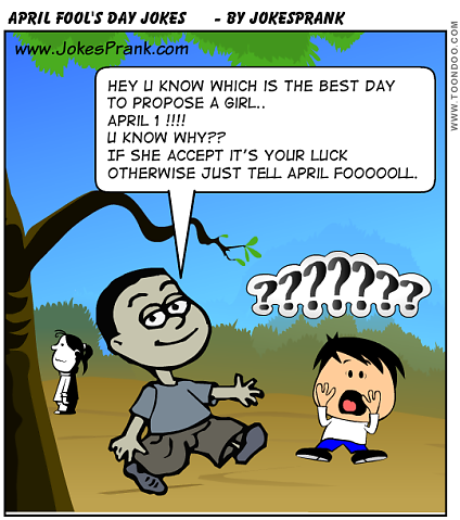 April Fool Pranks :D ~ My Fun Mails