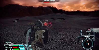 Los planetas que visitas con el Mako son demasiado yermos...