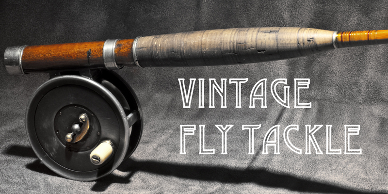 The fiberglass manifesto vintage fly tackle for Vintage fishing rods