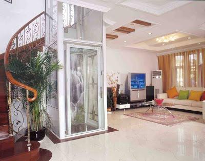 Villa asans rleri hidrolik asans r panoramik asans r for Luxury home plans with elevators