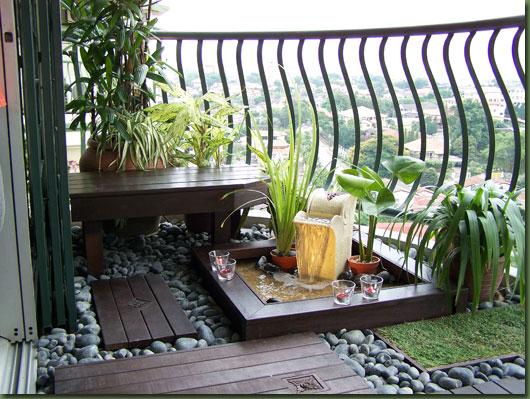 ideias jardim varanda:Crie Jardim: Idéias para jardins – jardins para varandas de