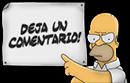 gadget deja comentario Homer imagen un