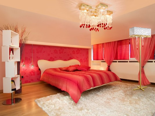 Romantic Red Bedroom Ideas