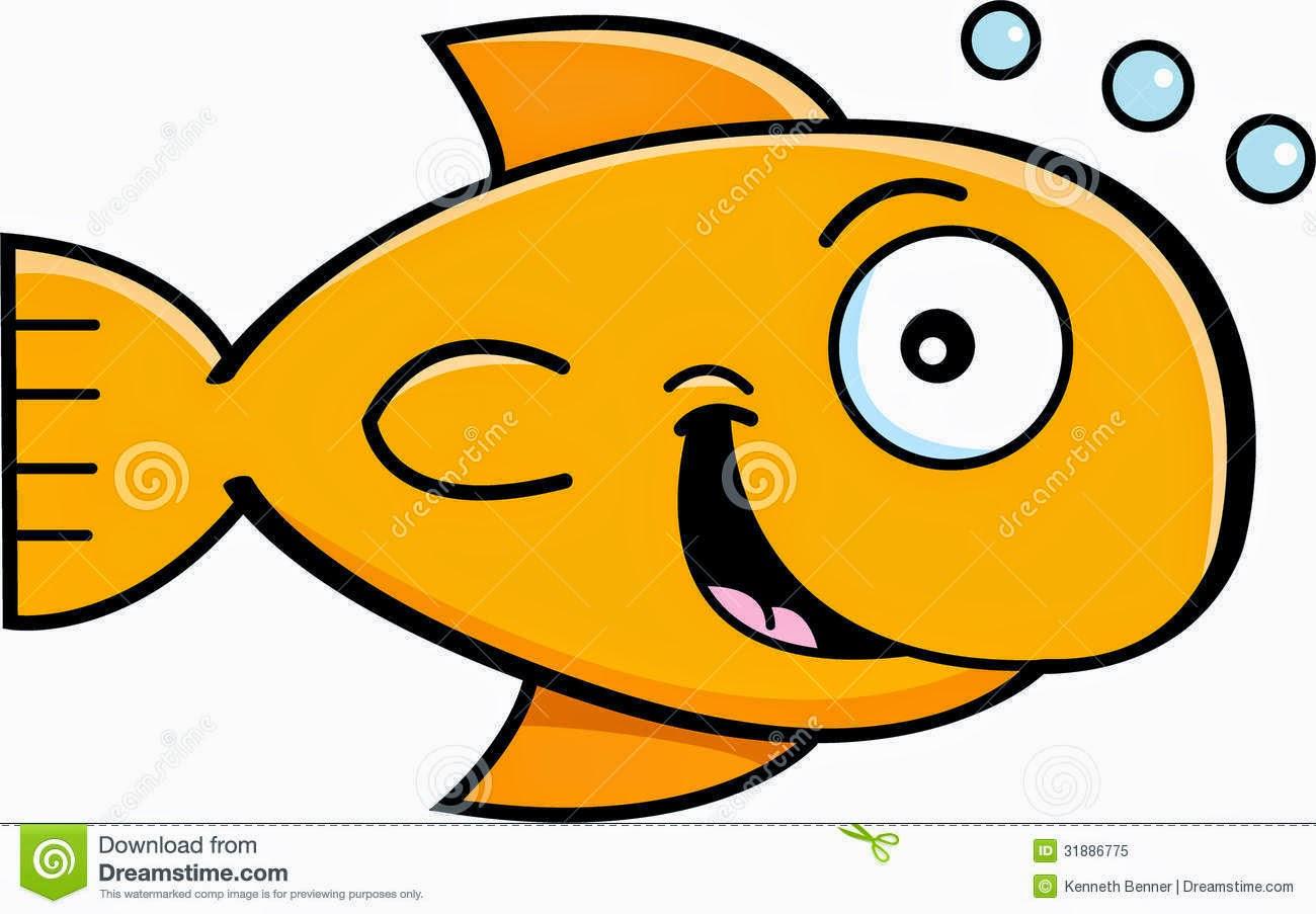 Goldfish cartoon for Cartoon fish pictures