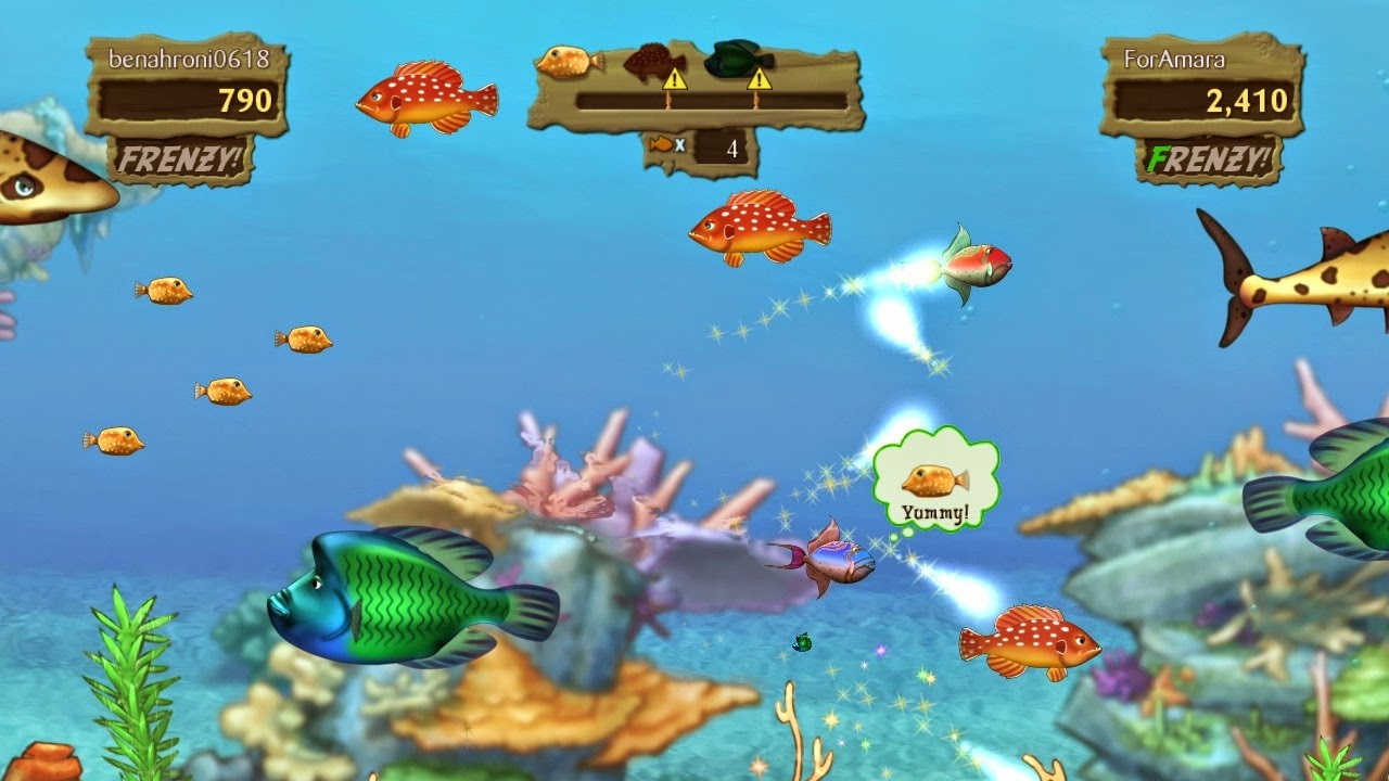 free download game for pc Feeding Frenzy 2 Shipwreck Showdown