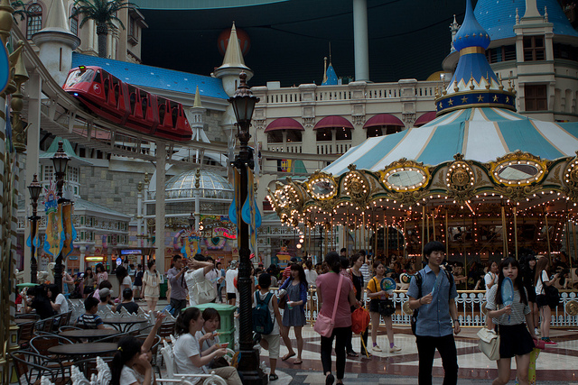 Lotte world korea