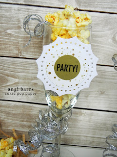 SRM Stickers Blog - New Year's Party by Angi - #party #favors #invitation #stickers