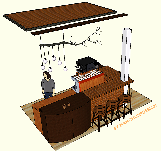 Coffee Booth | MANGMUN DESIGN