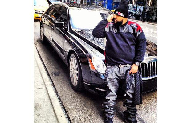 photo of DJ Khaled Bentley - car