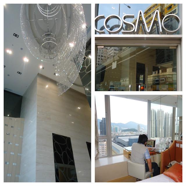 Cosmo Hotel in Mongkog Hongkong