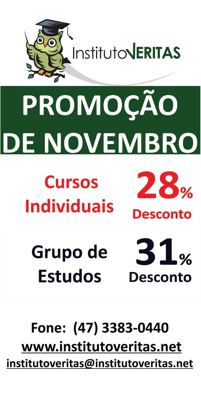 Promoção de Novembro