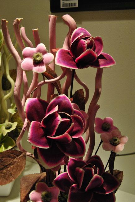 Decorar con flores y plantas artificiales - Jarrones flores artificiales ...