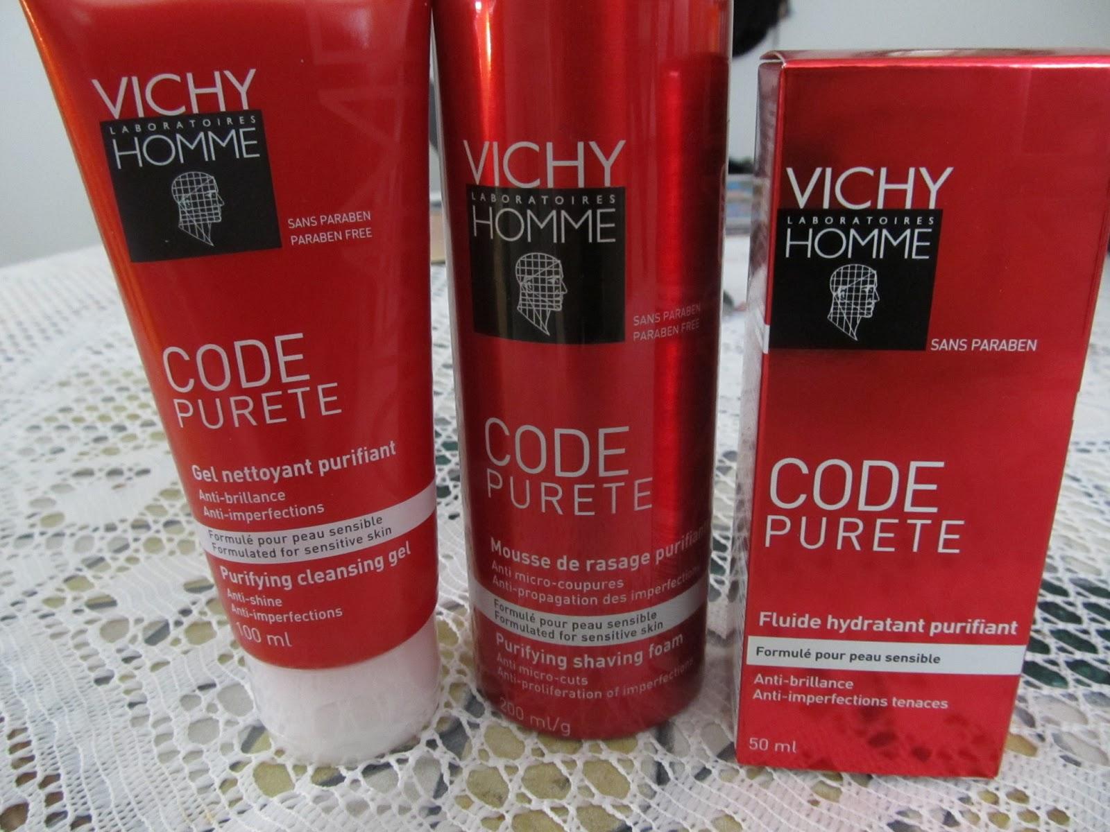 Vichy Code Pureté: Le soin pour les radieux!