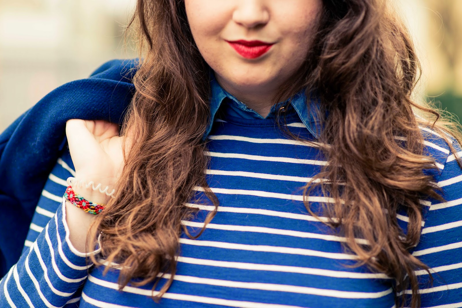 french lookbook blue look blog fashion blogger liquidgrain liquid grain