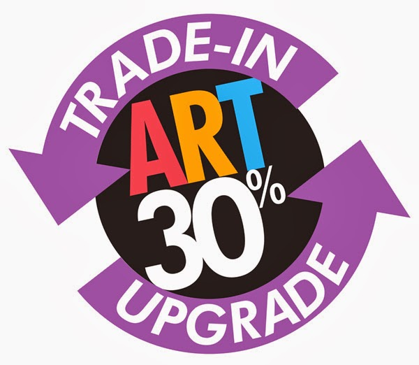 Immediate value for your old art!