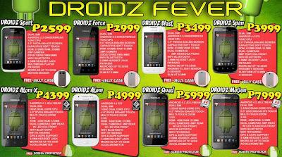Torque Android Phone Price List