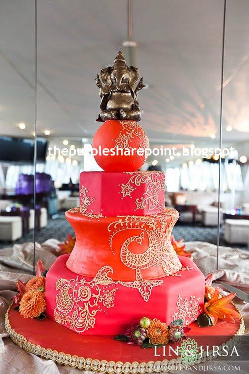 Indian Tradition Birthday Cake