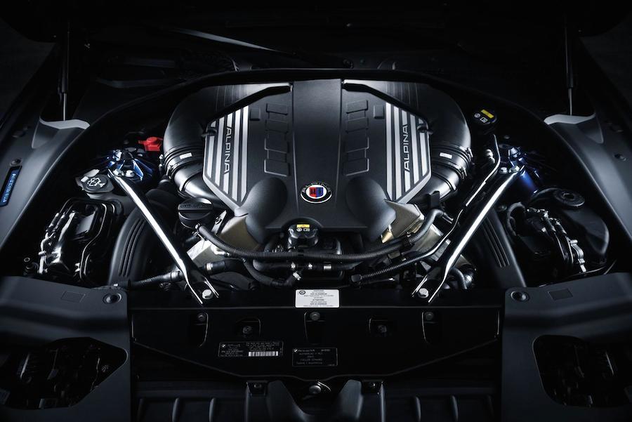 アルピナB6 xDrive グランクーペ エンジン