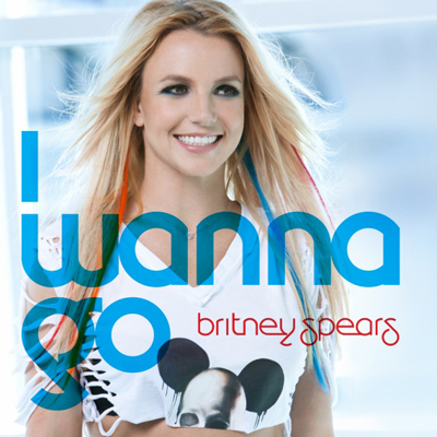 Britney Spears - I wanna go | Single art