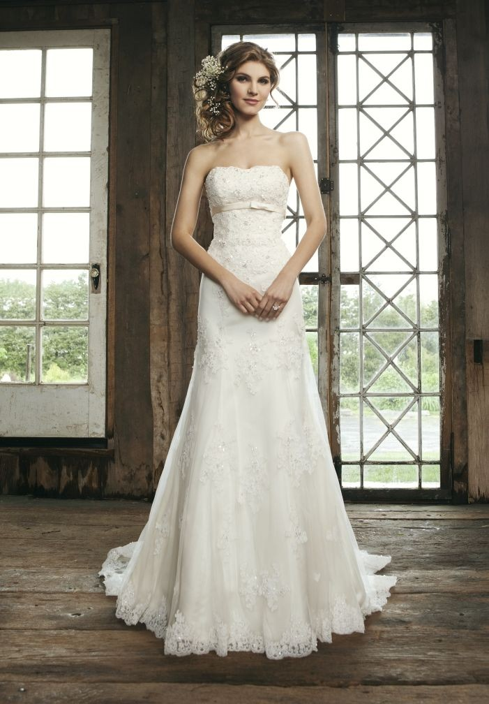 Wedding Dresses Lace Strapless : Whiteazalea destination dresses camping lace