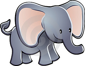 Baby cartoon elephant picture