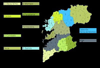 Pontevedra Mapa Ciudad de la Región