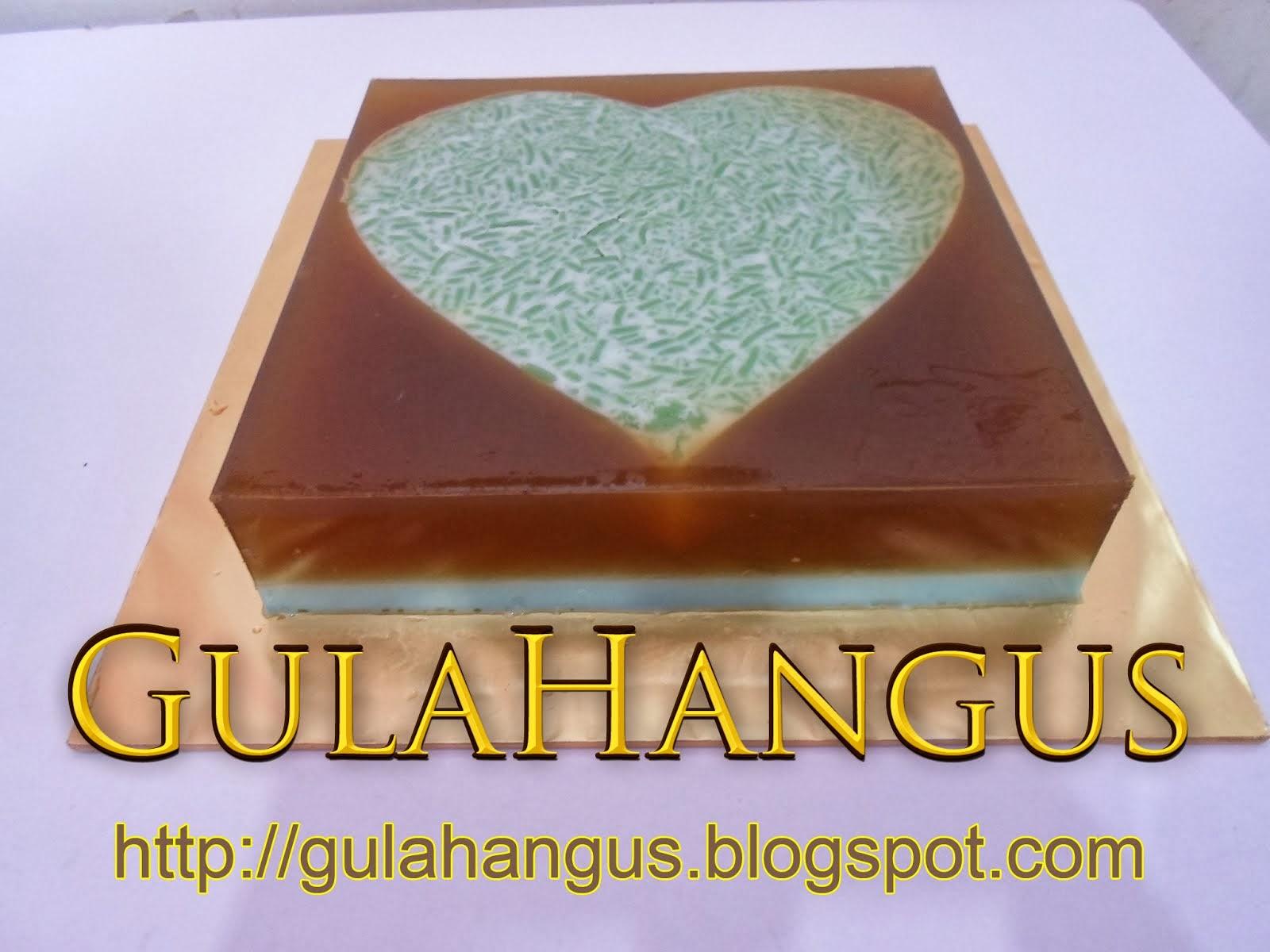 PUDING LOVE CENDOL GULA MELAKA