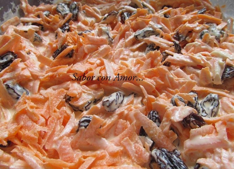 Sabor con amor - Ensalada de apio y zanahoria ...