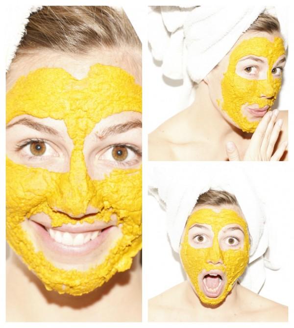Как сделать маску с куркумой