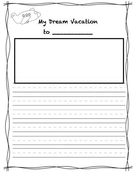 My dream vacation essay