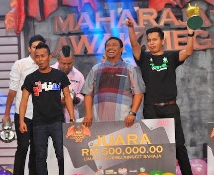 juara Maharaja Lawak Mega 2013, pemenang Maharaja Lawak Mega 2013