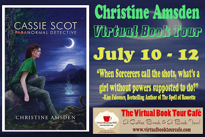 Cassie Scot: Paranormal Detective – Christine Amsden Guest Post