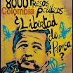 Joaquín Pérez Becerra, periodista víctima de montaje judicial en Colombia, país en cuyas cárceles hay 8000 presos políticos