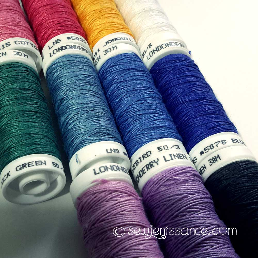 Londonderry Linen And DMC Embroidery Floss