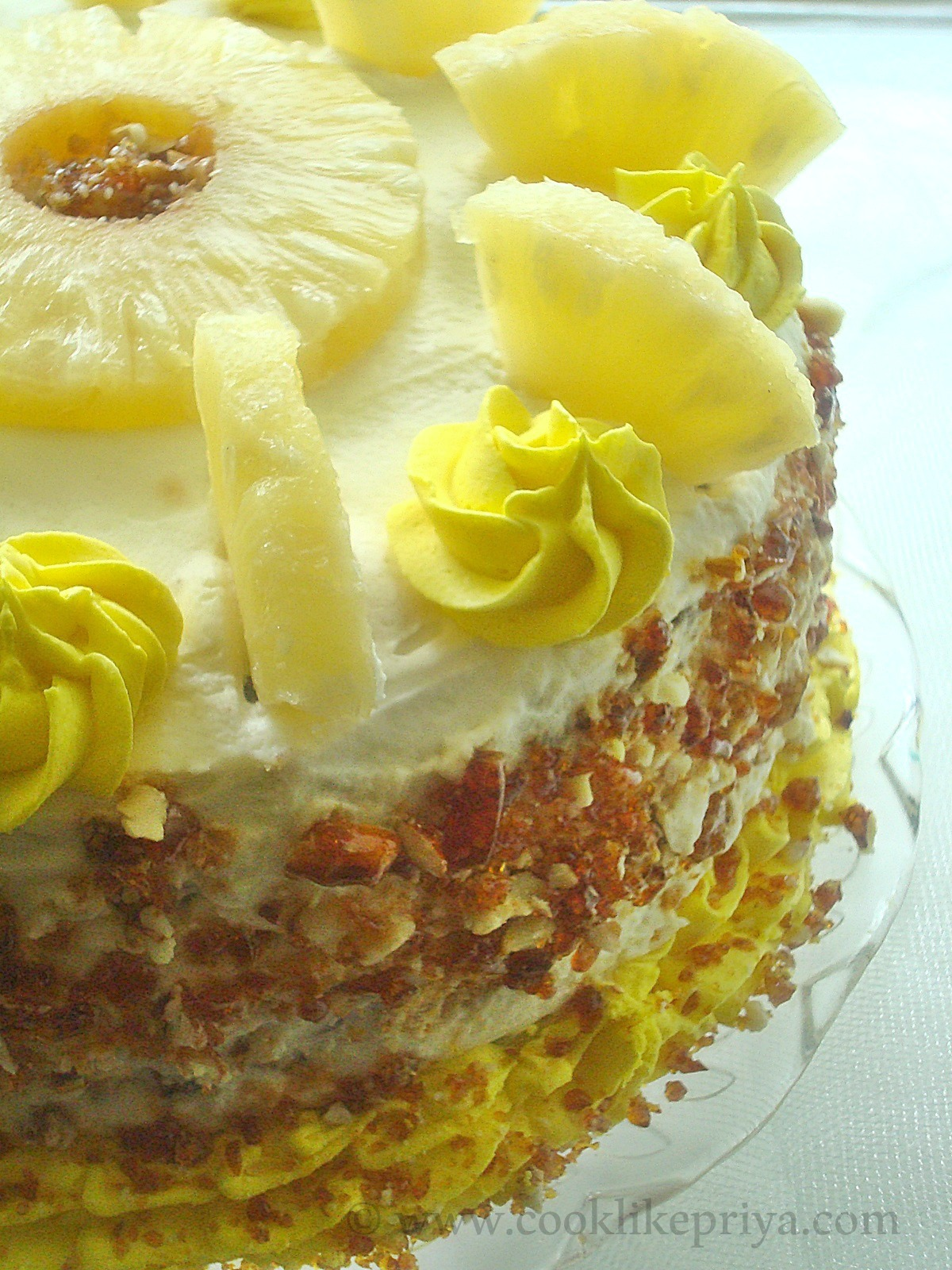 Pineapple Gateau Recipe