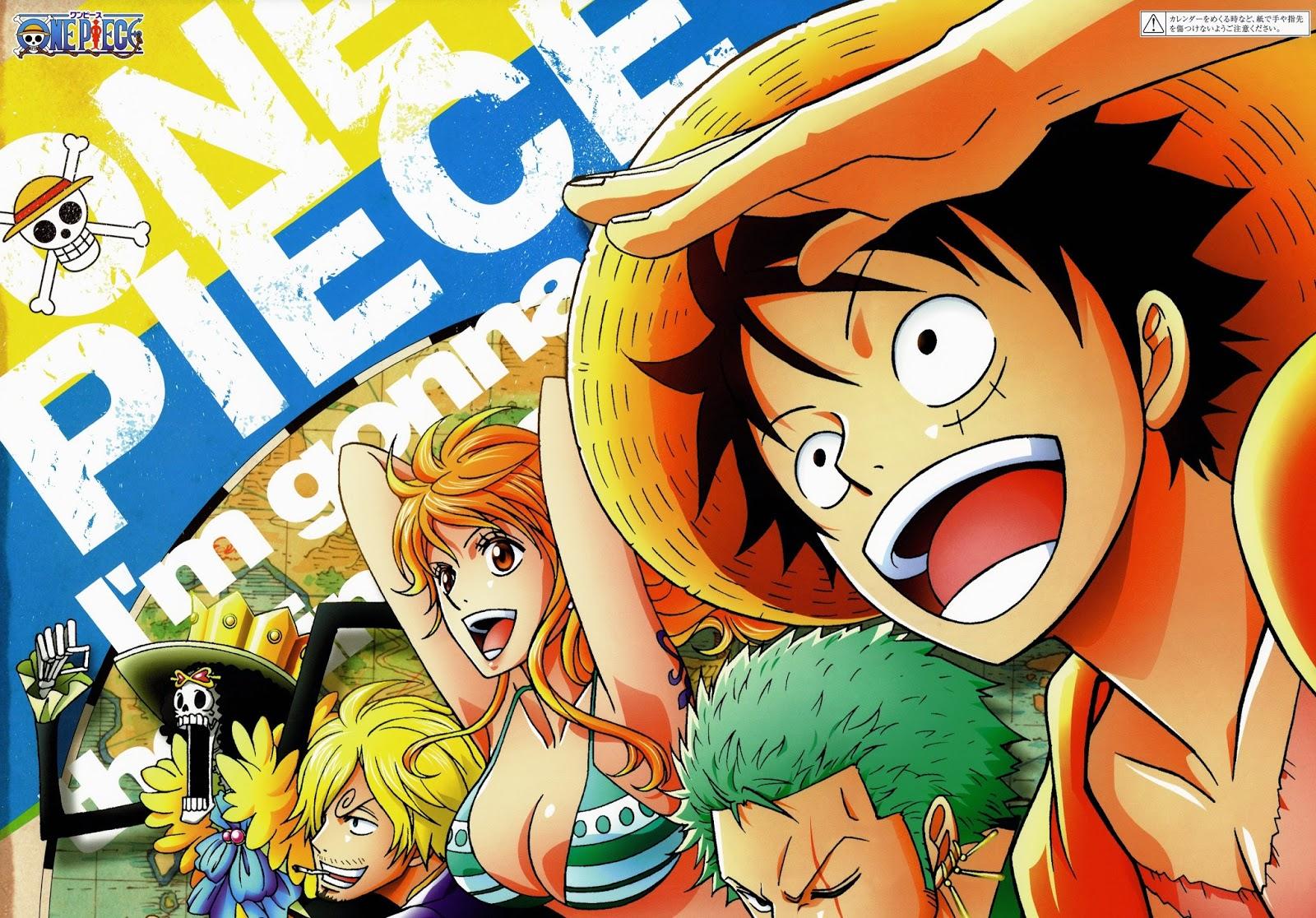 One Piece 2015 Calendar