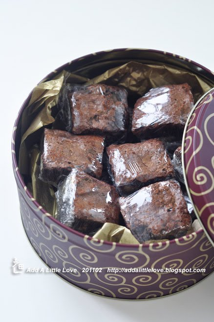 Brownies with Pecans and Macadamia Nuts